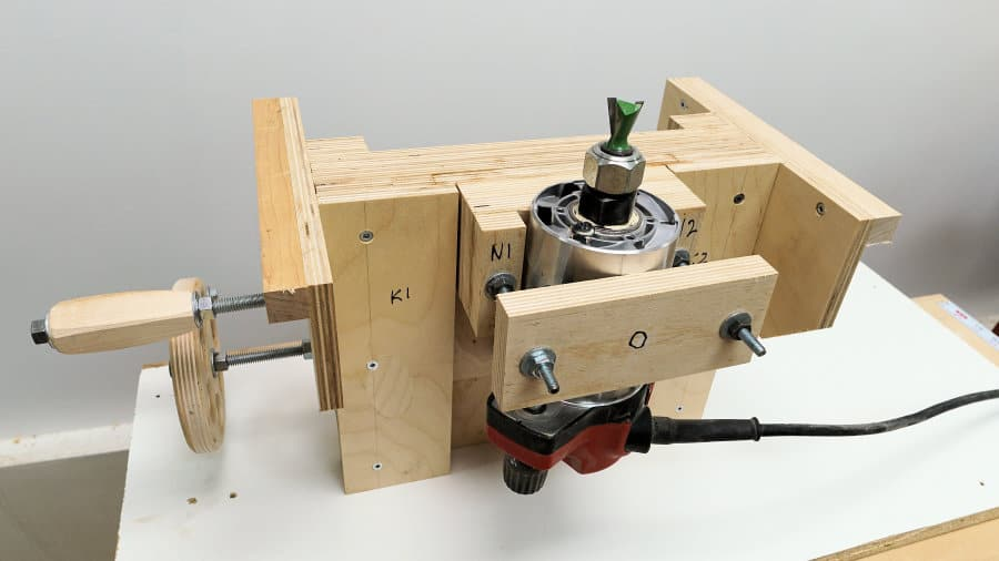 precision router lift