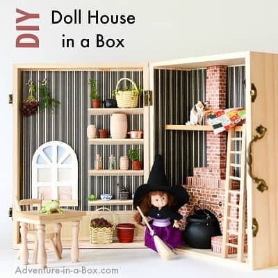 Dollhouse In A Box