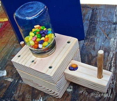 Homemade Candy Dispenser