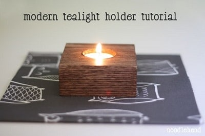 Modern Tealight Holder