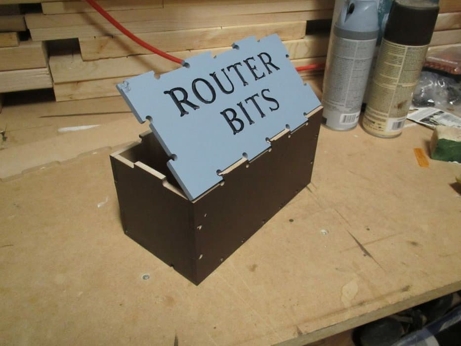 Router bit box Instructables
