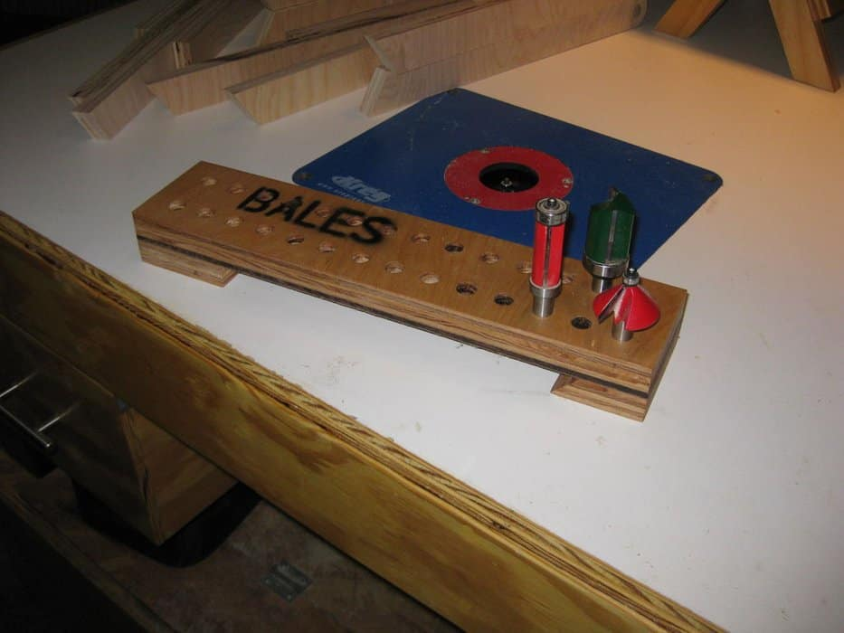 router bit tray