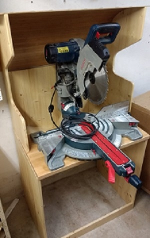 Miter Saw Dust extraction bin instructables