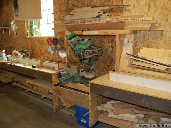 making a miter saw dust cabinet ibuidit