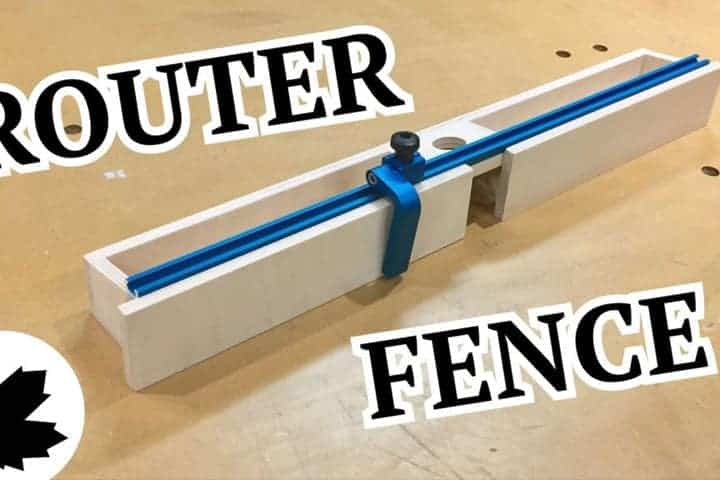 adjustable router fence instructalbe