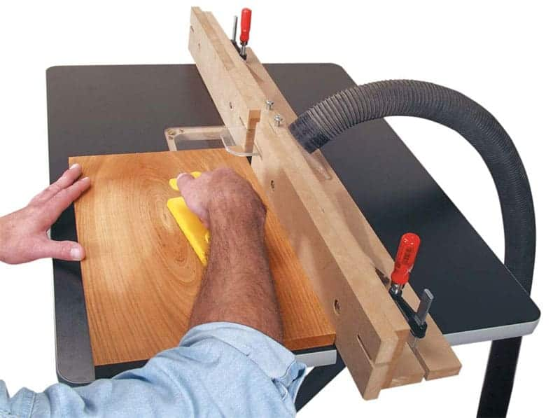 popular woodworking router fence