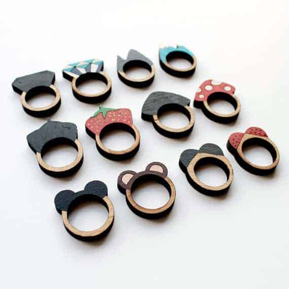 Whimsical Rings