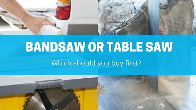 Bandsaw Or Table Saw