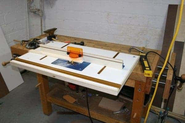 bench mounted router table plan instructables