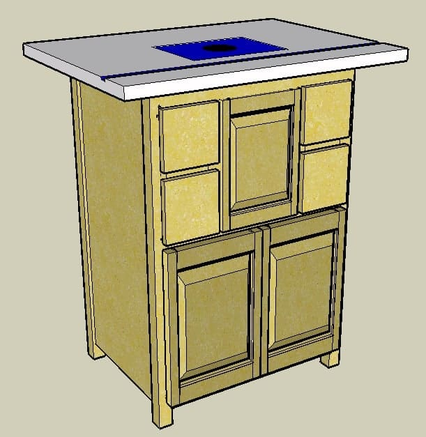 19 routertable-sketchup