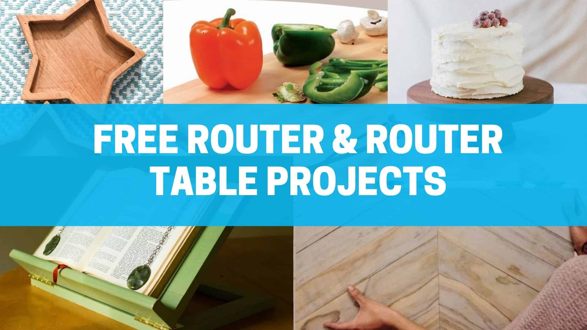 router and router table projects