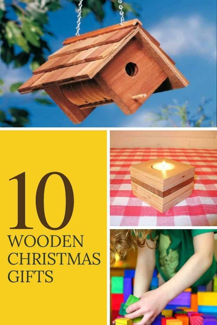Wooden chrsitmas gifts